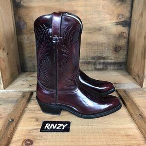 Durango Leather Cowboy Boots Wide